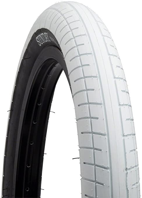 Tire Places Open On Sunday >> Amazon Com Sunday Street Sweeper Tire 20 X 2 4 White With Black