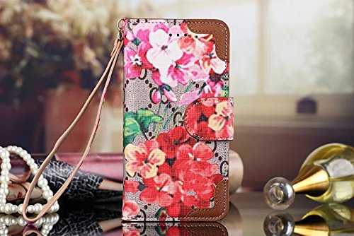 Samsung galaxy S8 Case Luxury Famous Bifold Packet Clip Grid Leather Cash Slot Wallet Case Cover For women men boy girl LV99 _ for samsung galaxy S8 and Grid Black