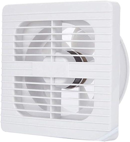 FENGRONG Ventilador de ventilación Ventilador Silencioso Fuerte Ventilador Cuadrado De Ahorro De Energía Baño De La Oficina Cocina Ventilador De Extracción Montado En La Pared: Amazon.es: Hogar