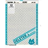 "Deleter Screen Tone Jr JR-127 [Light Checker Pattern][Sheet Size 182x253mm (7.16""x9.96"")] For Comic Manga Illustration Graphic Screentone"