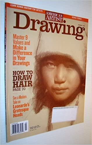 American Artist Magazine Drawing Summer 2009 How To Draw Hair Amazon Com Books