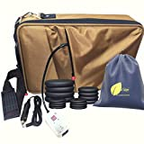Portable Hot Massage Stone Heater Bag Kit 16 Stones