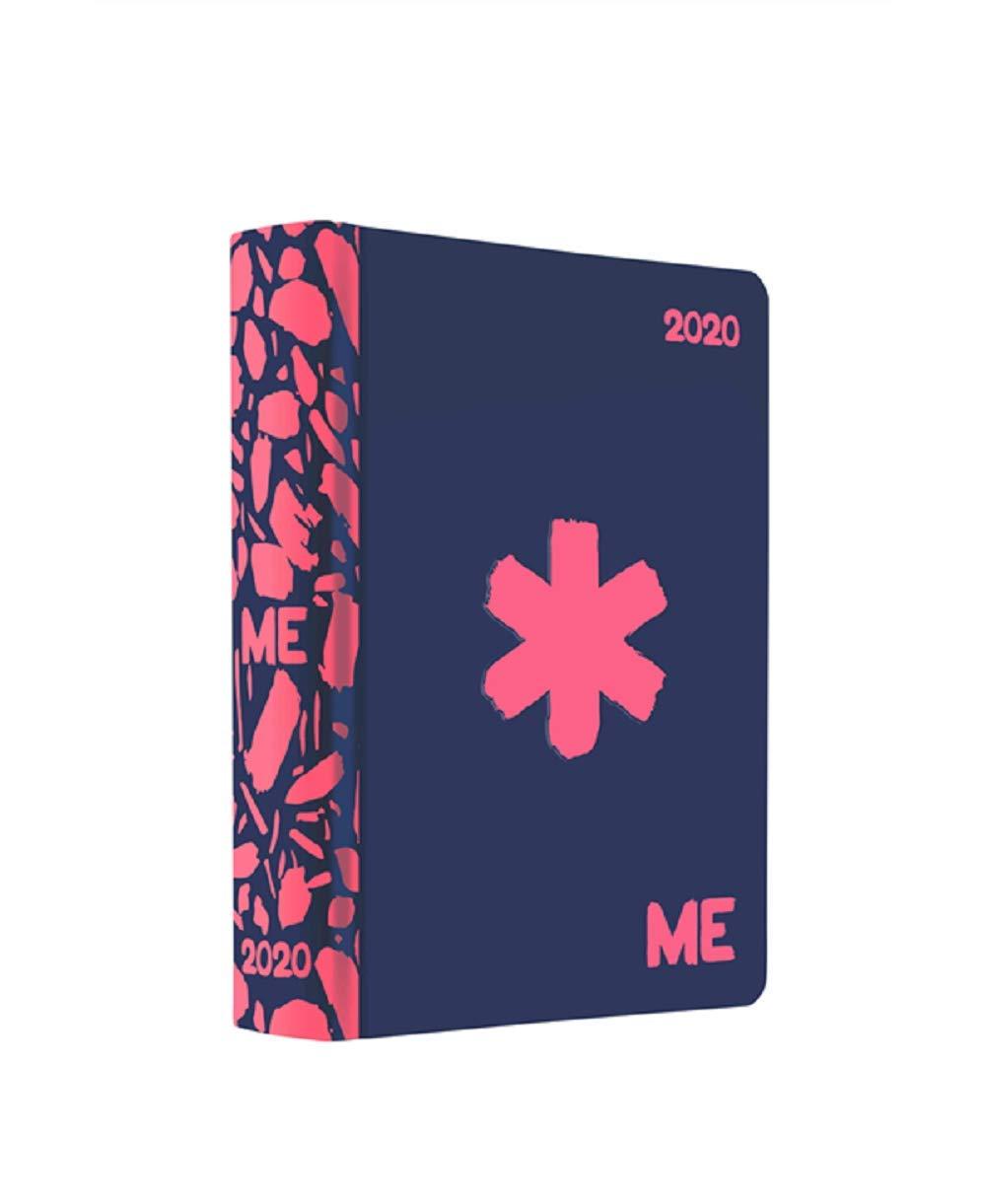 DIARIO 2020 datato ME MY EVOLUTION panini NERO 16 mesi ASTERISCO