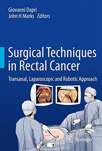 Surgical Techniques In Rectal Cancer  Transanal  Laparoscopic And Robotic Approach