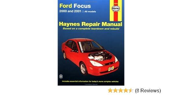haynes 2000 and 2001 ford focus repair manual hayne s automotive rh amazon com Ford Focus Service Manual Ford Focus Repair Manual Chilton