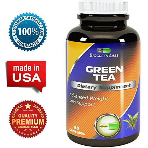 Biogreen Labs Green Tea Weight Loss Supplement with EGCG for