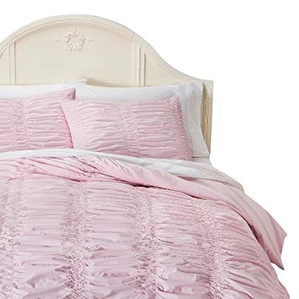amazon com simply shabby chic textured duvet cover set pink rh amazon com Shabby Chic Cottage Shabby Chic Cottage