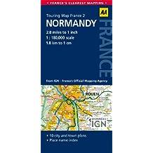 Road Map Normandy