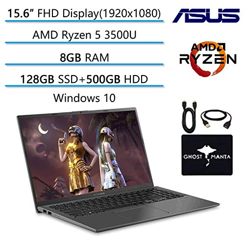 🥇 2020 Newest ASUS VivoBook 15.6″ FHD Thin Light Business Student Laptop