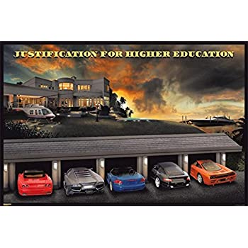 Amazon.com: Justification for Higher Education Classic Supercars ...