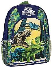 Jurassic World Kinderen Dinosaurus Rugzak Blauw