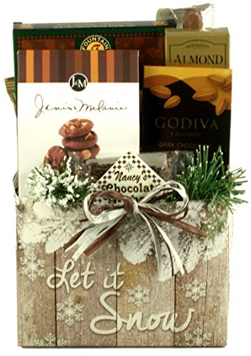 Let It Snow, Holiday Gift Basket (Small)