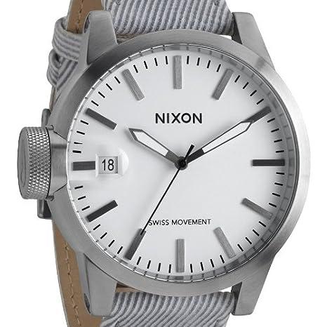 The Pinstripe Xl Chronicle Nixon Analog Quarz Herren Armbanduhr OZPikXuT