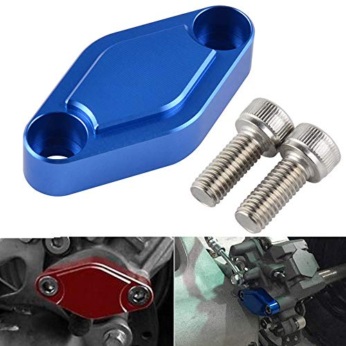 - ATV Parking Brake Block Off Plate for Yamaha Raptor 125 250 660 700 YFZ 450 R/X Warrior Banshee 350 for Suzuki LTZ for Kawasaki Red