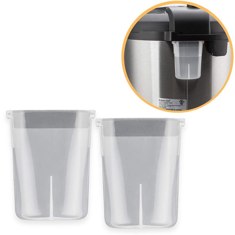 WISH Condensation Collector for Instant Pot Duo Mini 3 Qt, DUO Plus Mini 3 Qt, LUX Mini 3 Qt and Ultra Mini 3 Qt (2 Pack) WISH Direct