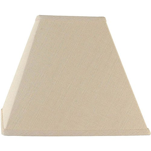 Better Homes and Gardens Square Woven Lamp Shade, Tan