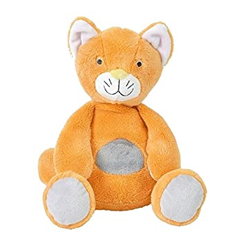 Happy Horse - Peluches et Doudous - Peluche Chat Cally - Coloris : orange gris taupe