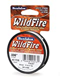 Beadalon WildFire .006-Inch Frost, 50-Yard