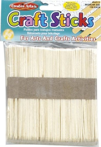 Craft Sticks, Regular Size, Natural Color