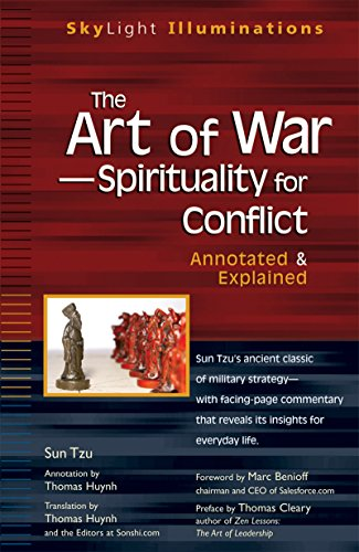 The Art of War-Spirituality for Conflict: Annotated & Explained (SkyLight Illuminations) by [Sun Tzu, Thomas Huynh]