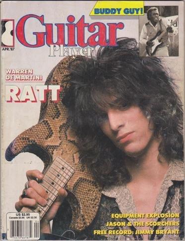 Guitar Player Magazine - Guitar Player Magazine (April 1987) (Warren De Martini of RATT - Buddy Guy)