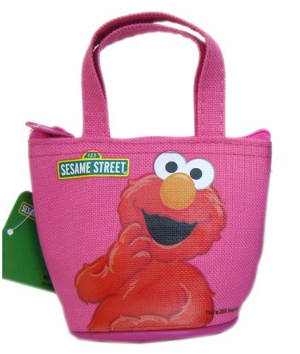 (Elmo Coin Purse - Sesame Street Wallet (Pink))