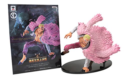 "Banpresto One Piece Scultures BIG Special 5"" Donquixote Doflamingo Action Figure"