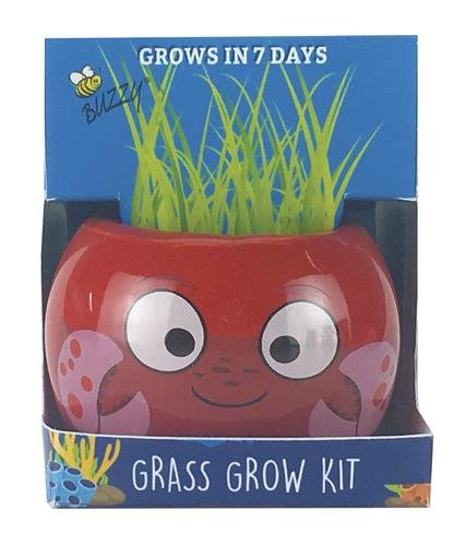 Buzzy Ceramic Crab Grass Grow Kit ()