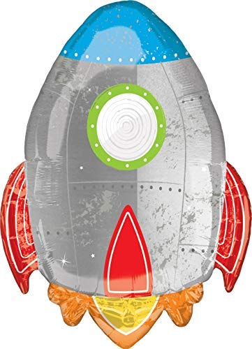 Mayflower Products Blast Off Space Alien 2nd Birthday Party Supplies Balloon Bouquet Decoration