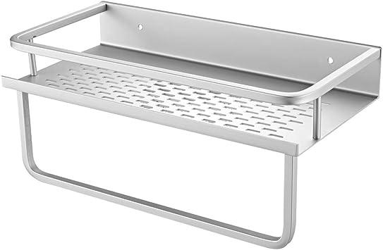 TOPBATHY Cesta de Almacenamiento de Malla de Metal para Montar en la Pared Organizador de Almacenamiento del hogar para Cocina o ba/ño