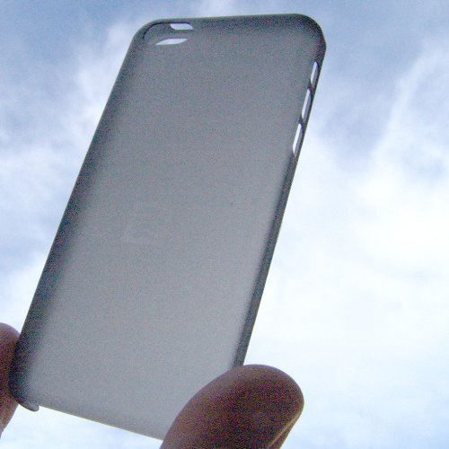 Étui Coque Arrière en Plastique TPU ultra slim 0,2mm Noire pour iPhone 5C