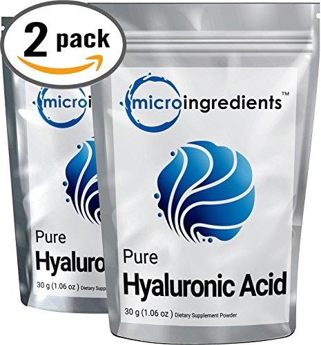 Micro Ingredients Hyaluronic Molecular Anti Aging