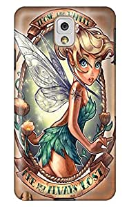 Blonde princess with wings tattoo galaxy Note3 diy Popular Durable Crusty 5