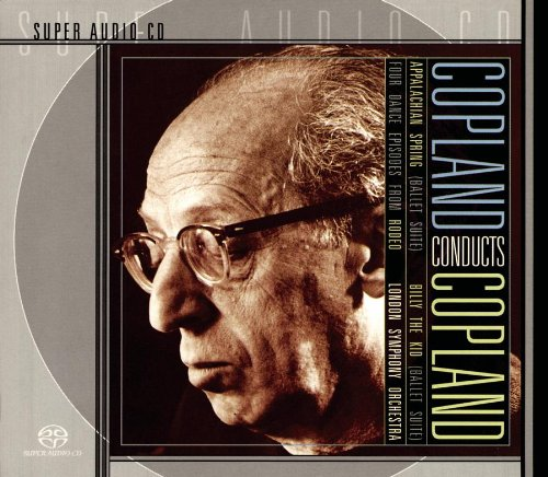 Copland: Appalachian Spring, Billy the Kid, Four Dance Episodes from Rodeo (Sony Spring)