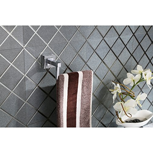 Ruvati RVA5005 Valencia Towel Ring Luxury Bathroom Accessory, Crystal and Chrome by Ruvati (Image #4)