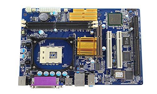 high Performance 845 chipset 478 Socket ddr2 (up to 4GB) Motherboard 4xSATA2 1xIDE 2 PCI Expansion Slots 1AGP 4/8X 1ISA 1ATA-133+1FDD,1PS/2 k/B 1PS/2MS, 1LPT,1RJ45,1 1VGA