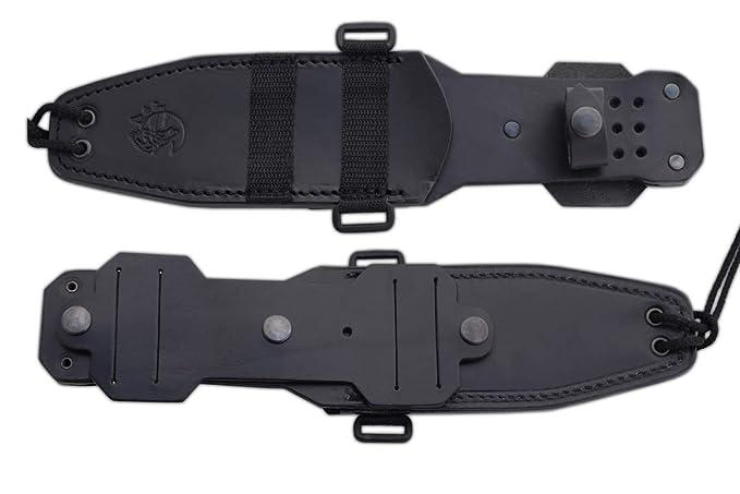 J&V Adventure Knives JV Cuchillo Wolf G10 CNC Funda Piel ...