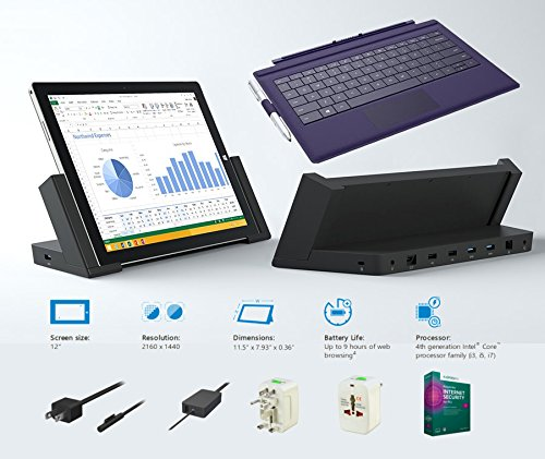 t Surface Pro 3 Core i3-4020Y 4G 64GB 12