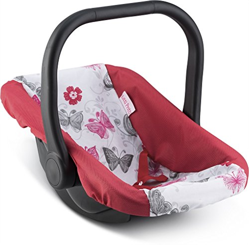 Litti Pritti DOLL ADJUSTABLE CARRIER – Converts from Rocking Baby Carrier to Feeding Seat – Perfect for Children 2+ (Car Seat Carrier Baby Toy)
