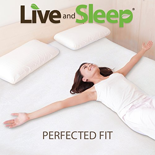 Live & Sleep Mattress - Memory Foam Mattress - 10-Inch Cool Bed in a Box Medium Firm with Bonus Pillow, Full Size