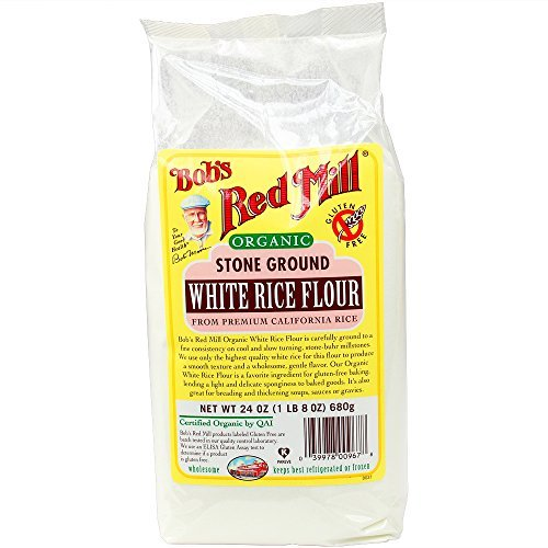 Make Easy Gluten Free Crepes with Rice Flour with Bob's Red Mill Gluten Free White Rice Flour, 24 oz