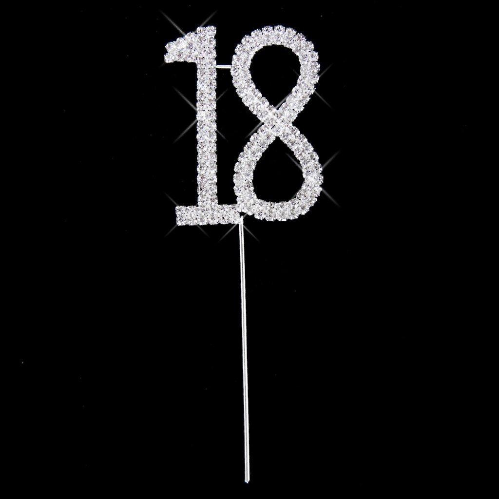 Decoraci/ón para tarta para maltonyo17/para 18th aniversario de boda//fiesta de cumplea/ños Decoraci/ón