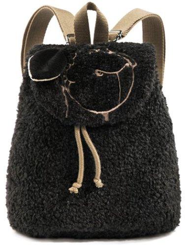 Nici - Sac à dos pour mouton - noir, 25 cm X 23 cm 13 cm