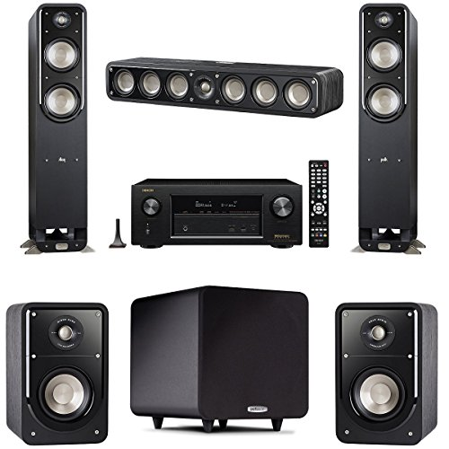 Polk Audio Signature S55 5 Speaker Package with Signature 15