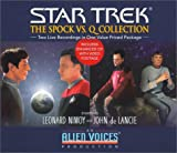 Spock vs. Q Gift Set (Star Trek (Unnumbered Audio))