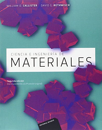 Descargar Libro Ciencia E Ingeniería De Los Materiales, 2ª Edicion William Callister