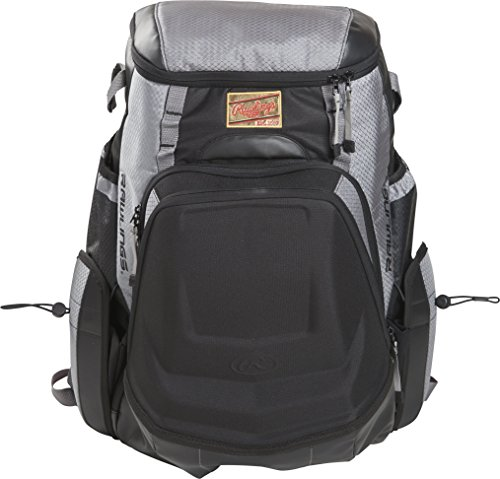(Rawlings R1000 Gold Glove Series Equipment Bag, Gray with Black)