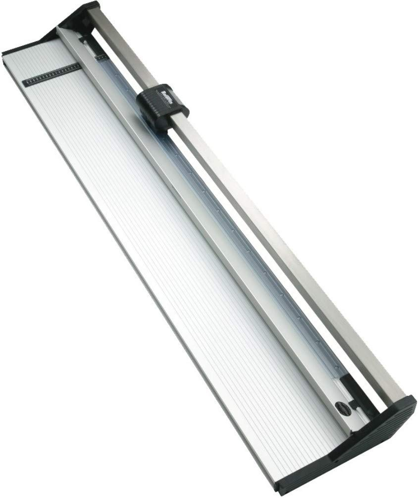 Rotatrim 60330 Technical Series 61'' (1550 mm) Rotary Trimmer, 1/2'' Stainless Steel Guide Rail Completely Eliminates Head Swivel, All-metal Construction, Maximum Cut Depth of Up to 4mm
