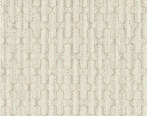 York Wallcoverings CL1832 Color Library II Frame Geometric Wallpaper, Beiges ()