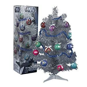 Amazon Com 23 Inch Christmas Tree Star Wars Everything Else - Star Wars Christmas Tree Ornaments